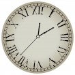 antiguo reloj contra blanco — Vector de stock  #3847455