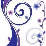 Vector floral design — Stock Vector #3847726