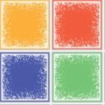 Grunge ceramic seamless texture — Stock Vector