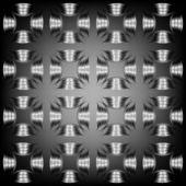 Seamless monochromatic texture — Stock Vector