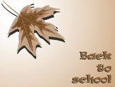 Terug naar school seizoen — Stockvector