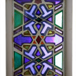 Foto de Stock  : Stained-glass windows