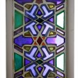 图库照片: Stained-glass windows