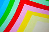 Colored paper — Stock Photo