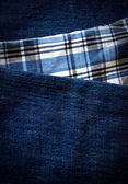 Vertical jeans background — Stock Photo