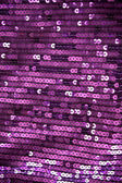 Violet sequin fabric — Stock Photo