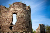 Ruins of the castle — Stock Photo