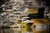 Agua que fluye — Foto de Stock