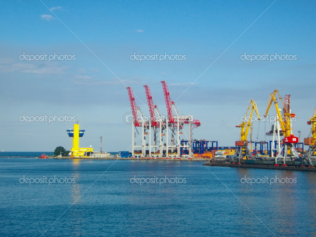 Seaport — Stock Photo #2721091