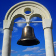 Ships old bronze bell — Stock Photo #3240528