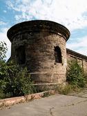 Tornet och muren av fästningen — Stockfoto