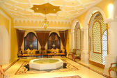 Reception area in luxury hotel — Stock Photo