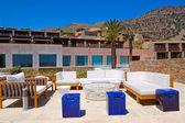 Recreation area at luxury hotel — Stock Photo