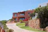 高級ホテル、クレタ島、ギリシャでの休暇の別荘 — ストック写真