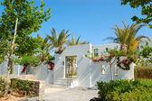 Vstup v moderní luxusní vily, Kréta, Řecko — Stock fotografie