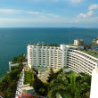 The luxury hotel with sea view, Pattaya, Thailand — Stock Photo #3855043