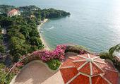 Sea view area of luxury hotel, Pattaya, Thailand — Stock Photo