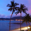Stock Photo: Sunset at Patong beach, Phuket, Thailand