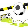 Football_goal - Stock Vector
