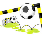 Football_goal — Stockvector