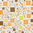 Background squares - Stock Vector