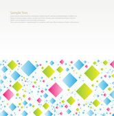 Rhombus horizontální — Stock vektor