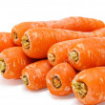 Carrot fresh vegetable group on white background — Stock Photo #3865943
