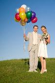 Par de casamento — Foto Stock