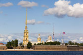 The Peter and Paul Fortress — 图库照片