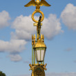 Stock Photo: Decorative gilt lantern