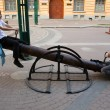 Two on seesaw — Stock Photo