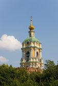Torre do Mosteiro de novospassky — Fotografia Stock