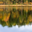 Autumn in lake — Stock Photo #3357051