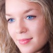 Girl with blue eyes — Stock Photo #3683786
