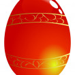 Easter egg - Stock Vector