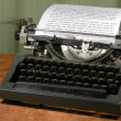 Stock Photo: Vintage 1960s Manual Typewriter