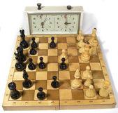 šachová hra — Stock fotografie