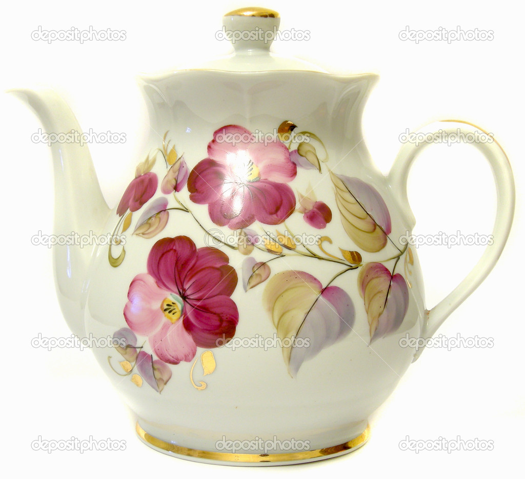 how to clean porcelain teapot
