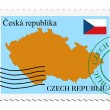 Mail to/from Czech Republic — Stock Vector #3294631