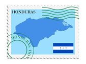 Mail to/from Honduras — Stock Vector