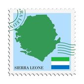 Mail to/from Sierra Leone — Stock Vector