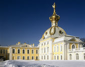 Big Palace in Peterhof, St. Petersburg — Stock Photo
