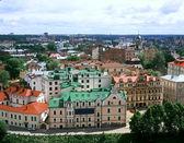 Vyborg - city center — Stock Photo