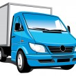Royalty-Free Stock Imagen vectorial: Delivery truck