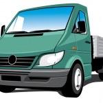 Cargo truck — Stock Vector #3308613
