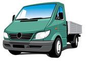 Cargo truck — Stock Vector