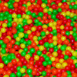 Red yellow green candy ball — Stock Photo
