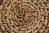 Rattan cane wood texture background — Stock Photo