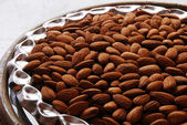 Almond seed dry fruit — Stock Photo