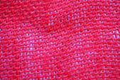 Red fabric texture — Foto Stock